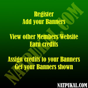 Register, Add Your Website, View other Members Website, Earn Credits, Assign Credits to Your Banners, Get Your Banners Shown...